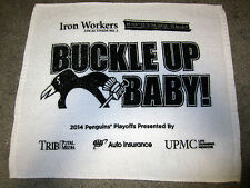 Pittsburgh Penguins 2014 Playoffs Buckle Up Baby RALLY TOWEL Sidney Crosby