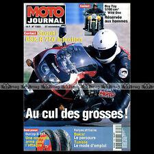 MOTO JOURNAL N°1303 SUZUKI GSX-R 750 SRAD ERIC RESMOND RALLYE TUNISIE DAKAR 1997