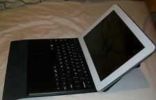 NEW  Hipstreet W10 Pro 10 Inch Tablet.. Docking Keyboard Trackpad Case & Stand