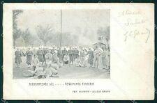 Torino Almese 74 Reggimento Fanteria Militari cartolina QT7707