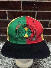 Vintage CROSS COLOURS hat 90s Black Power Hip HOP Strapback Cap OG Cap