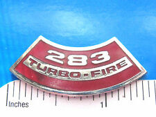 283 TURBO  FIRE engine - hat pin , lapel pin , tie tac , hatpin GIFT BOXED