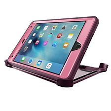 Otter New Box Defender Case w/Stand For iPad Mini 4 PURPLE - PINK