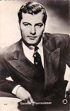 Carte postale ancienne Célébrités GEORGE MONTGOMERY