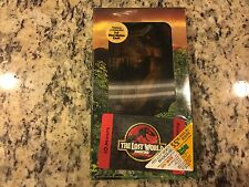 THE LOST WORLD JURASSIC PARK NEW VHS w/3D COVER & RARE PROMOTIONAL PHONE CARD!