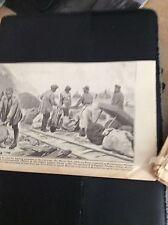 M5-6 ephemera  WW1 1918  picture indian labour corps