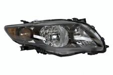 2009 2010 TOYOTA COROLLA S/XRS MODEL HEADLIGHT HEADLAMP RIGHT PASSENGER (BLACK)