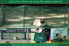 Kittywalk Deck & Patio Outdoor Containment Enclosure Travel System Cats KW100P