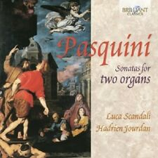HADRIEN JOURDAN/LUCA SCANDALI - SONATAS FOR TWO ORGANS CD KLASSIK NEU PASQUINI