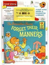 Berenstain Bears First Time Bks.: The Berenstain Bears Forget Their Manners NEW
