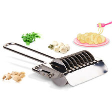 Stainless Steel Spaghetti Fettuccine Pasta Noodle Maker Machine Vegetable Cutter