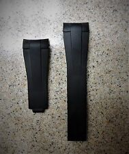 20 mm Replacement Rubber  Watch Strap Band For Rolex GMT Master II Ceramic