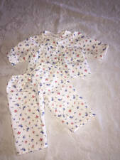 American Girl Emily's Sweet Little Floral Print 2 piece Pajamas Pjs RETIRED