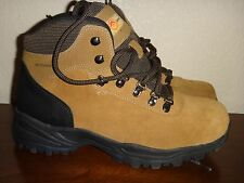 EARTH SPIRIT~Womens Waterproof Winter Fall Flat Shoes Boots~Brown Black~US Sz 10