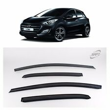 Smoke Window Sun Visor Guard For 2012-2015 Hyundai Elantra GT : New i30