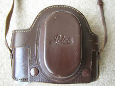 Unusual Leather Case for Leica SM Camera Vintage
