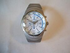 Superb Gents Stainless Steel Chronograph wristwatch by Lorus -Never been worn!