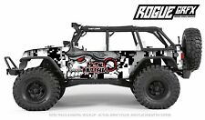 Axial SCX10 Rubicon or CRC Edition Body Graphic Wrap Skin- Metal Mulisha