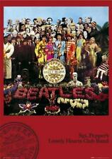 THE BEATLES POSTER (61x91cm) SARGENT PEPPER LONELY HEARTS PICTURE PRINT NEW ART