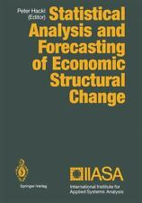 Statistical Analysis and Forecasting of Economic Structural Change (2012,...