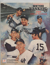 1985 NEW YORK YANKEES Yearbook MICKEY MANTLE MARIS Thurman MUNSON Dimaggio