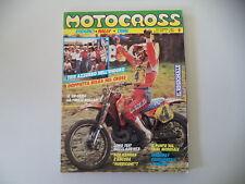 MOTOCROSS 9/1987 MOTO GUZZI NTX 650/APRILIA TX 311 M TRIAL/GILERA RC 250 RALLY