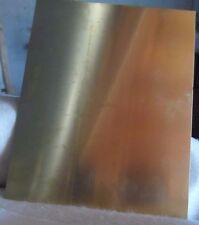 1.0 mm Engraver Brass Sheet - 240 x 300 x 1.0 mm  A4 Size - Quality_Made
