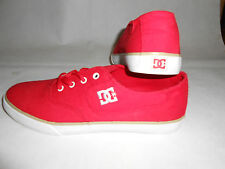 New DC Shoes red plimsols EU41 UK7,5 RRP £60