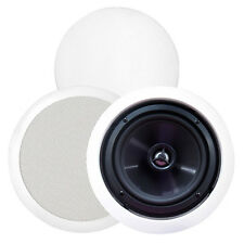 "BIC MSR-PRO6 6-1/2"" 2-Way In-Ceiling Speaker Pair"