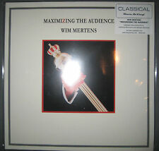 "NEU 12"" 180g Vinyl LP Maximizing The Audience  Wim Mertens Music On AUDIOPHILE"