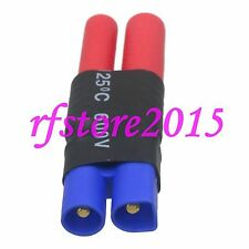 HXT 4mm bullet Female to EC3 Male No wire Adapter for RC Turnigy Gens Ace lipo