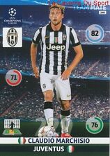 148 CLAUDIO MARCHISIO JUVENTUS  CARD CHAMPIONS LEAGUE ADRENALYN 2015 PANINI