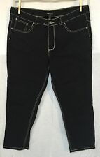 HEAVY STITCH BLACK JEANS by THERAPY LANE CRAWFORD Juniors size 20