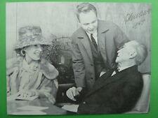 .Konrad Adenauer (GER) † 1967 - Politik Bundeskanzler - Autogrammkarte (Druck)