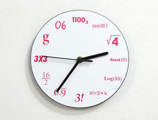 Mathematics - Math Equation Formula Numbers - Wall Clock