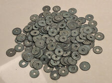 Collectible20pcs Chinese Bronze Coin China Old Dynasty Antique Currency Cash