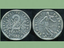 2 francs 1982 NICKEL  semeuse   ( bis )