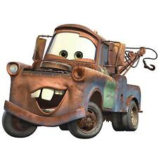 "MATER Disney Cars MURAL 7 decals room party decor 29"" tow truck wall stickers"