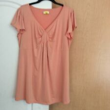 New Peach Tunic Women Top Plus Size 1X