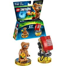 Lego Dimensions E.T. Phone Home Fun Pack 42 Pieces Brand New Sealed Ships Fast !