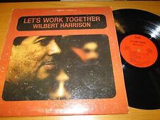 """STEREO R&B LP - WILBERT HARRISON - SUE 8801 - """"LET'S WORK TOGETHER"""""""