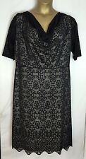 Dorothy Perkins Sample Black Lace Dress Size 18