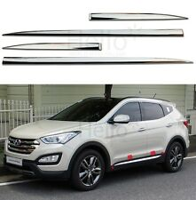 Genuine Chrome Door Garnish Molding 4p For 2013 2014 2015 HYUNDAI Santa Fe SPORT