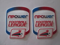 NPower Football League Shirt Arm Patches Player Size Sporting ID Official