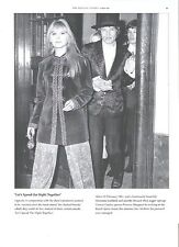 ROLLING STONES top hat mick & stylish Marianne magazine PHOTO / mini Poster11x8""