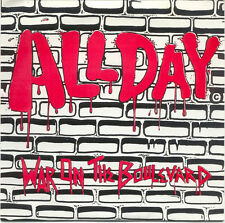 "All Day - War On The Boulevard 7"" PENNYWISE NOFX VANDALS DESCENDENTS"