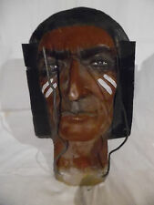 Vintage Native America Indian Head Wall Mannequin