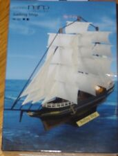 Sailing Ship Paper Nano Kawada Laser Cut Paper Model Kit PN127