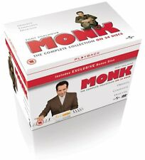 Monk Series Complete Seasons 1-8 1 2 3 4 5 6 7 8 New Sealed DVD Box Set reg 4