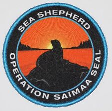 Official Sea Shepherd Operation Saimaa Seal Campaign Patch